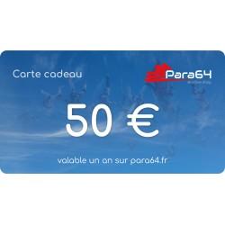 Bon d'achats de 50 €