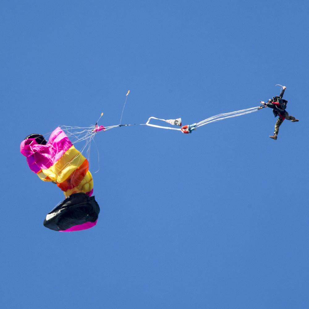Entretien des parachutes